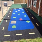 Wetpour Rubber Surfacing in Cheshire 10