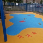 Wetpour Rubber Surfacing Price in Conwy 11
