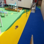 Wetpour Rubber Surfacing Price in Conwy 1