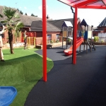Wetpour Rubber Surfacing in Norfolk 6