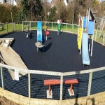 Wetpour Rubber Surfacing in Inverclyde 6