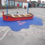 Wetpour Rubber Surfacing Price in Conwy 10