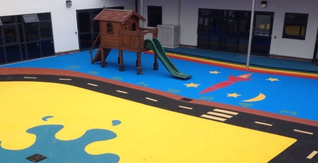 Wetpour Rubber Flooring in Inverclyde